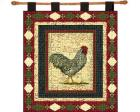 Le Coq Wall Hanging (Woven/Tapestry) Chicken
