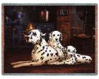 Dalmatian Throw Blanket (Woven/Tapestry)