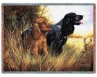 Cocker Spaniel Throw Blanket (Woven/Tapestry)