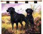 Labrador Retriever Wall Hanging (Woven/Tapestry) Black Lab