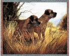 Border Terrier Throw Blanket (Woven/Tapestry)