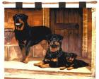 Rottweiler Wall Hanging (Woven/Tapestry)