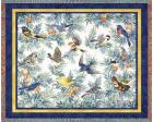 Songbirds Throw Blanket (Woven/Tapestry)