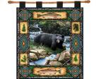 Bear Lodge Wall Hanging (Woven/Tapestry)