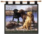 Board Meeting Wall Hanging (Woven/Tapestry) Labrador Retrievers