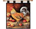 English Cockerel Wall Hanging (Woven/Tapestry) Chicken