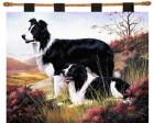 Border Collie Wall Hanging (Woven/Tapestry)