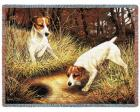 Jack Russell Throw Blanket (Woven/Tapestry)