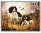 Springer Spaniel Throw Blanket (Woven/Tapestry)