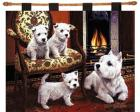West Highland Terrier Wall Hanging (Woven/Tapestry) Westie