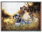 English Setter Throw Blanket (Woven/Tapestry)