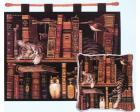 Frederick the Literate Wall Hanging (Woven/Tapestry) Cat