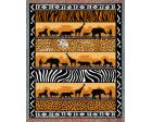 In the Wild Throw Blanket (Woven/Tapestry) African Animals