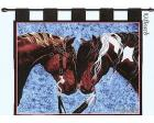 Warriors Truce Wall Hanging (Woven/Tapestry) Horse